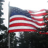 Old Glory flying proudly
