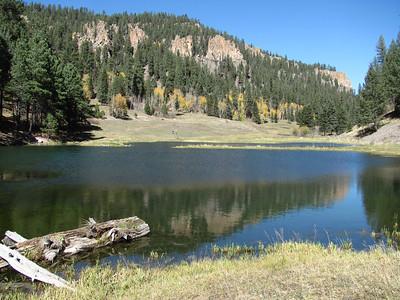 Jemez Mtns. - Upper Cebolla Canyon-Lazy Ray Ranch Site Hike  10-15-12