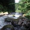 Roaring river looking downstream (Southwest)