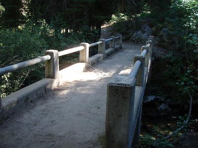 Bridge over the East Fork Lostine River