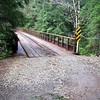 The bridge on FR 2209 over Gold Creek