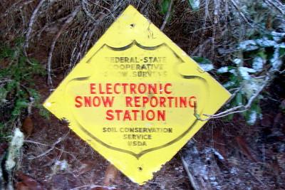 A sign that had fallen down