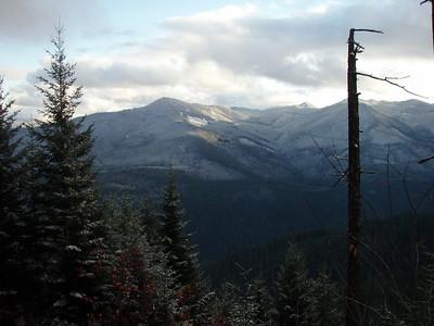 Burnt Granite from Oak Grove Butte Cutoff Trail