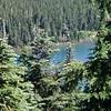 Horseshoe Lake from Gibson Lake trail