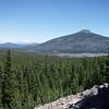 Olallie Butte, Mt Hood, Olallie Lake from Gibson Lake trail