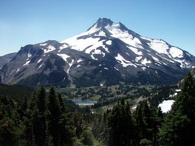 Mt Jefferson from Park Ridge