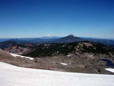 Ruddy Hill, Mt Hood, Olallie Butte