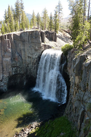 Rainbow Falls Hike Devil's Postpile National Monument 06/2012