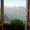 Hotel Belalp - view from the window