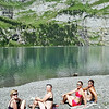 This was the perfect place for 5 very hot hikers. The swim in the lake was SO refreshing.