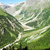 We are heading for this valley, called Gasterntal