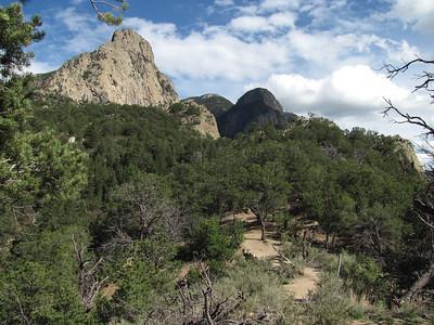 Sandia Mtns. - Piedra Lisa South Trail-Rincon Pass Hike  8-12-13