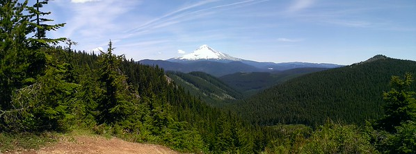 Mt Hood from High Rock turnout