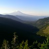 Mt Adams and the Goat Creek drainage