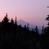 Mt Adams from our campsite