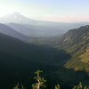 Panorama from head of Goat Creek drainage