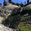 """This is what one map referred to as """"slide falls""""  - not terribly big, but really cool looking"""