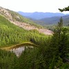 Pansy Lake - looking up the Pansy Creek drainage
