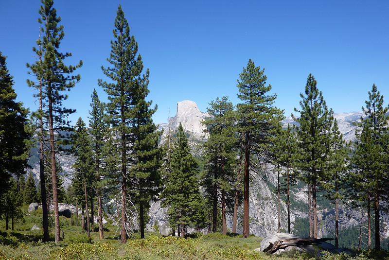 Top of Panorama Trail, Half Dome