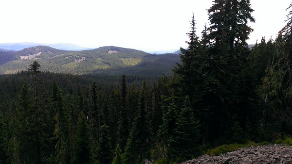 Looking South from the top of Frazier Mountain