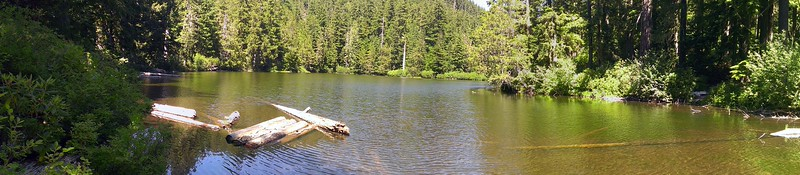 Panorama of Surprise Lake