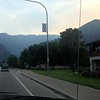 Driving through Leavenworth - you can see all the smoke from the fires