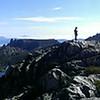 Panorama from Prusik Pass
