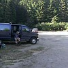 Stuart Lake Trailhead - getting ready for the big trip