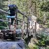 Crossing Mountaineer Creek