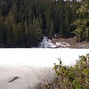 Frozen Memaloose Lake