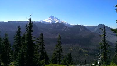 Mt Jefferson from Ruddy Hill