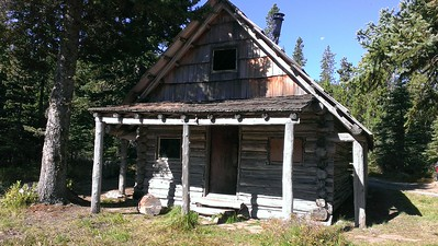 Cabin at Olallie Meadow