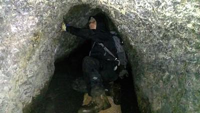 Zack in tunnel #4