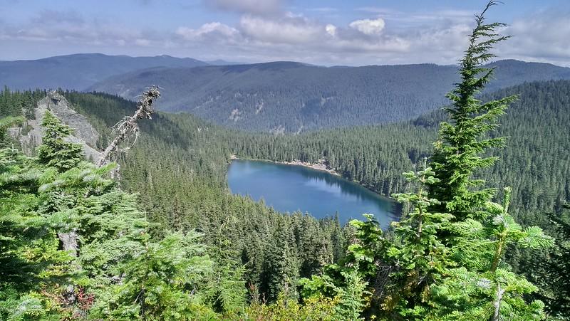 Serene Lake from Helispot overlook