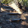 The trail is improving - many steps ahve been added - but it still has rough spots
