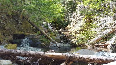 Welcome creek mini waterfall