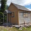 The cabin on Hawk Mountain