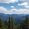 Olallie Butte and Mt Jefferson from Hawk Mountain