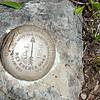Marker on top of Hawk Mountain