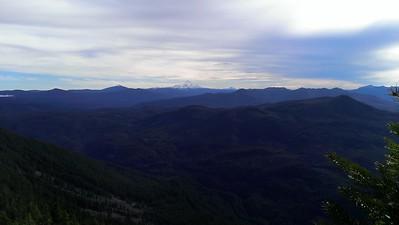 Mt Jefferson from Rimrock Overlook