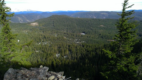 The icy section in the middle right is Cottonwood meadows I think
