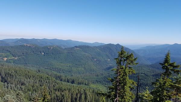 Thunder Mountain and Skookum Lake