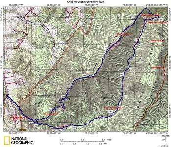 Knob Mountain-Jeremy's Run 2016-11-19
