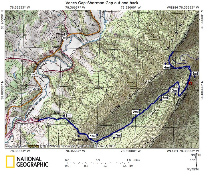 Map Veach Gap-Sherman Gap