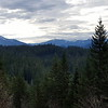 View from the first rockslide on Cripple Creek Trail