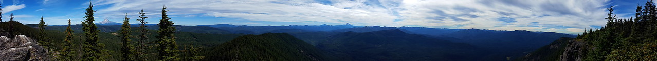 Panorama from the Rimrock overlook