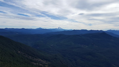 Mt Jefferson from the Rimrock overlook
