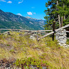 Old cabin on Beullers Bluff - Stehekin, <br /> Washington