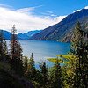 View part way up to Beullers Bluff - Stehekin, <br /> Washington