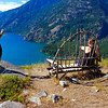 Chair on Beullers Bluff - Stehekin, Washington